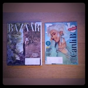 CARDI B MAGAZINES - LOT OF TWO (2) MAGS -…
